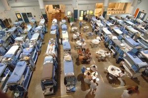Overcrowded Californian state prison 2006/7