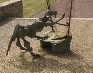 paul rebeyrolle sculpture chien
